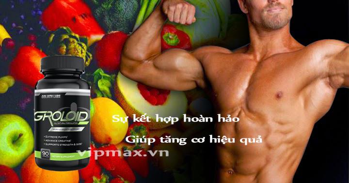 Thực phẩm tăng cơ