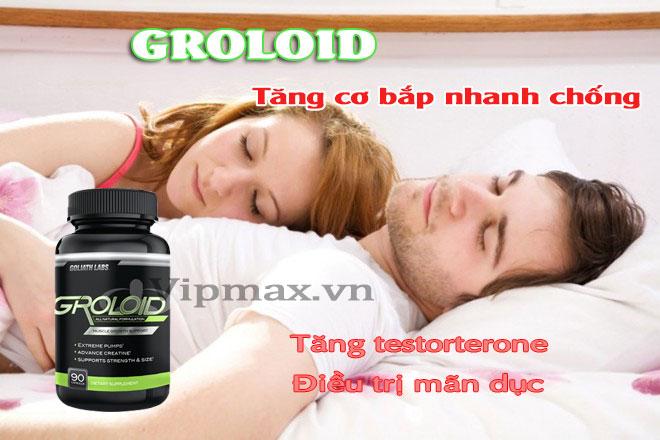 Thuốc tăng cơ bắp nhanh