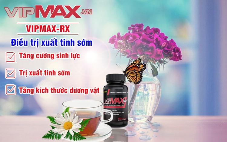 Công dụng VIPMAX RX