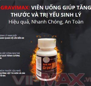 Gravimax Kéo Dài Thời Gian Quan Hệ Lên 60 Phút