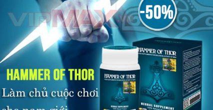 Thuốc Hammer Of Thor Chống Xuất Tinh Sớm Hiệu Quả