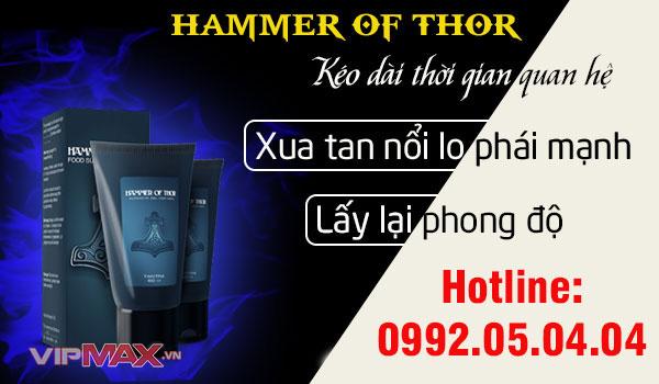 hammer of thor gel là gì có thực sự tốt không sản xuất ở đâu