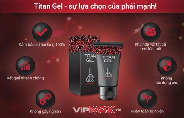 Titan Gel có tốt không