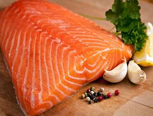 Cá hồi - Thực phẩm tăng kích thước dương vật