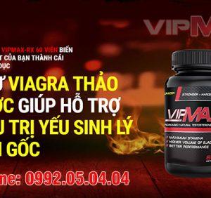 Viên uống Vipmax RX điều trị yếu sinh lý nhanh chóng
