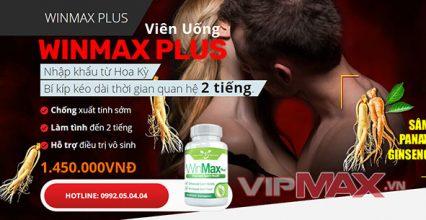 Winmax Plus Hỗ Trợ Tăng Kích Thước Dương Vật